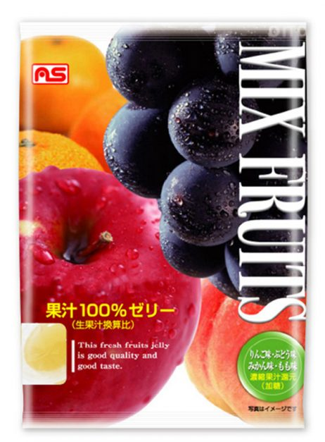 果汁100%ゼリーミックス
