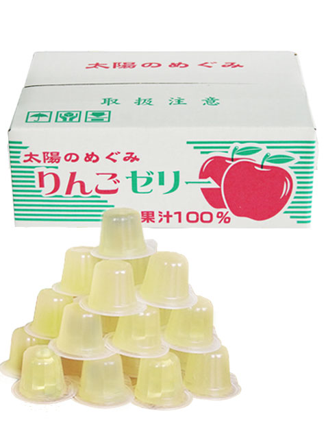 果汁100%ゼリーBOX りんご味23粒