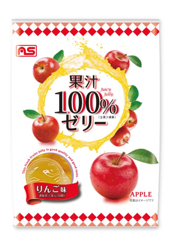 果汁100%ゼリー りんご味