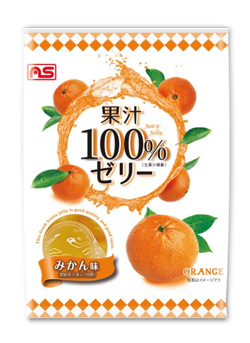 果汁100%ゼリーみかん味