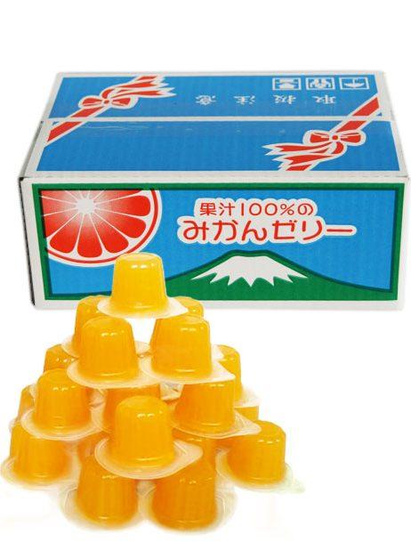 果汁100%ゼリーBOX みかん味23粒
