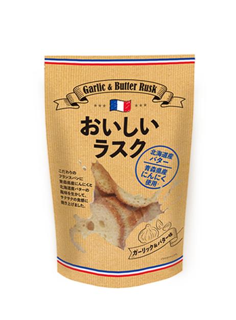 おいしいラスク ガーリック&バター味