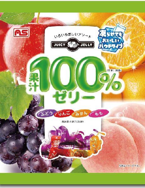 果汁100%ゼリーミックス25個(パウチタイプ)