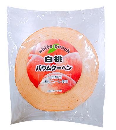 白桃バウムクーヘン